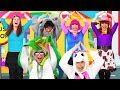 The Wheels On The Bus Nursery Rhyme Mega Mix | Songs for kids and families | Debbie Doo