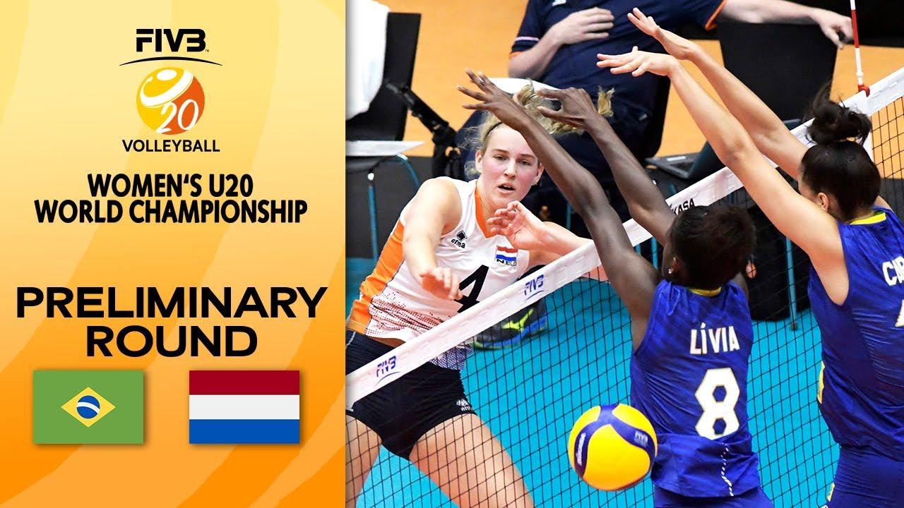 Download BRA vs. NED - Full Match | Women's U20 Volleyball World Champs 2021