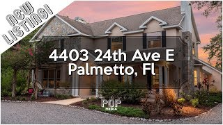 Enchanting Private Estate in Palmetto - Vibrant, cozy and timeless.