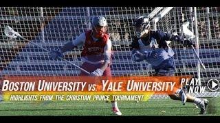 Boston University vs. Yale University Lacrosse | 2014 Lax.com Fall Ball Highlights