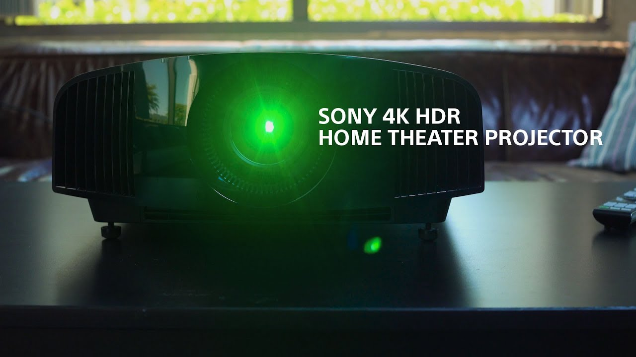 FIRST LOOK - True 4K for $5K – The New Sony VPL-VW285ES 4K HDR Home Theater  Projector