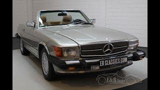 Mercedes-Benz 560 SL Roadster 1986-VIDEO- www.ERclassics.com