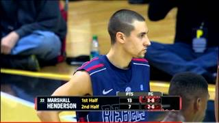 Repeat youtube video Marshall Henderson looses his Crazy on Vanderbilt (Plus buzzer-beater)