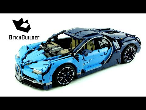 Lego Technic 42083 Bugatti Chiron Sd Build