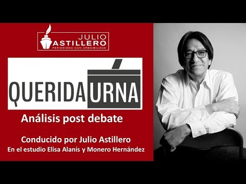 Estreno mundial QUERIDA URNA Debate del debate