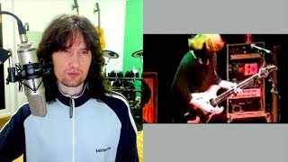 British guitarist reacts to Trey Anastasio's ability to keep total control!