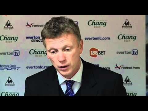 Moyes on disappointing Everton's 2-1 Bolton loss