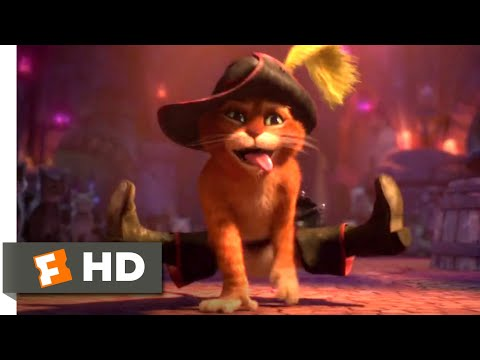 Puss in Boots (2011) - Cat Dance Fight Scene (2/10) | Movieclips