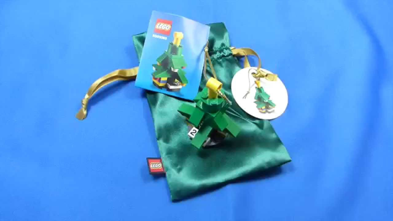 LEGO VIP Christmas Ornament 2015 Exclusive 5003083  YouTube