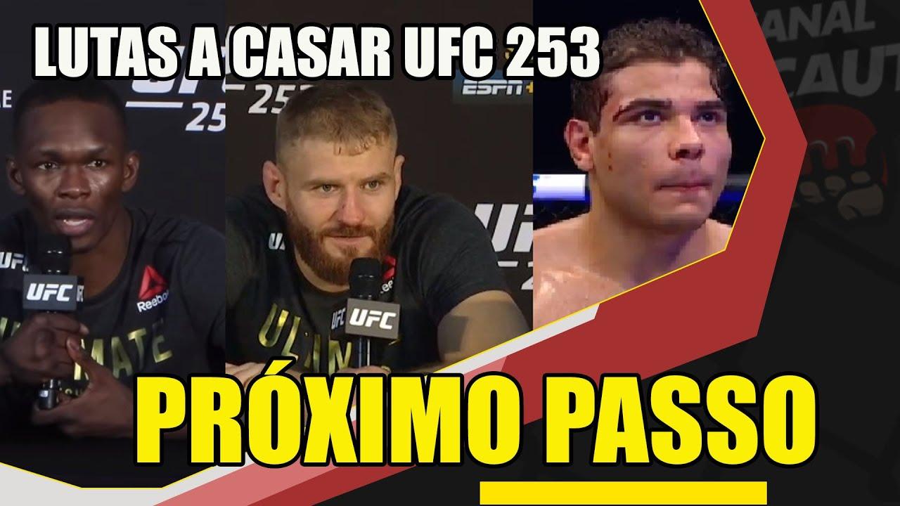QUAL PRÓXIMO PASSO DE BORRACHINHA, ADESANYA E DOS OUTROS LUTADORES DO UFC 253 / LUTAS A CASAR