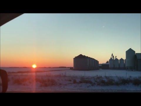 North Dakota Sun Set.