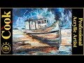 Acrylic Painting Tutorial for Beginner and Advanced Artists with Ginger Cook