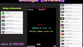 Galaga - PC (Steam) - 999,990