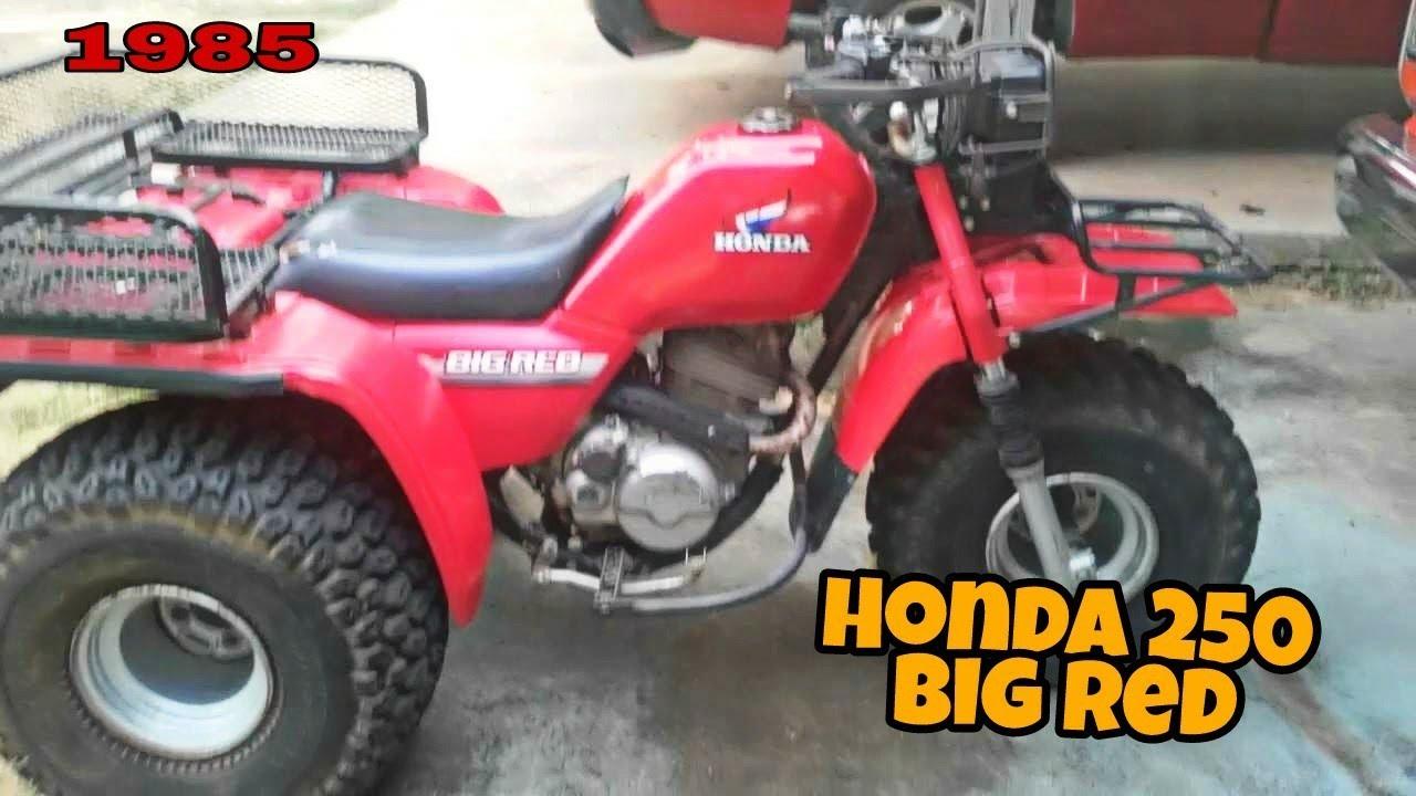 My 1985 Honda 250 Big Red