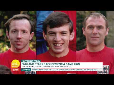 England Legends Sir Geoff Hurst and Gordon Banks Back Dementia Campaign | Good Morning Britain