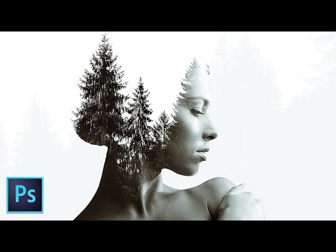 EASY Double Exposure Photoshop Tutorial thumbnail