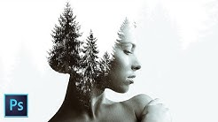 Double Exposure Photoshop Tutorial - Easy and powerful!