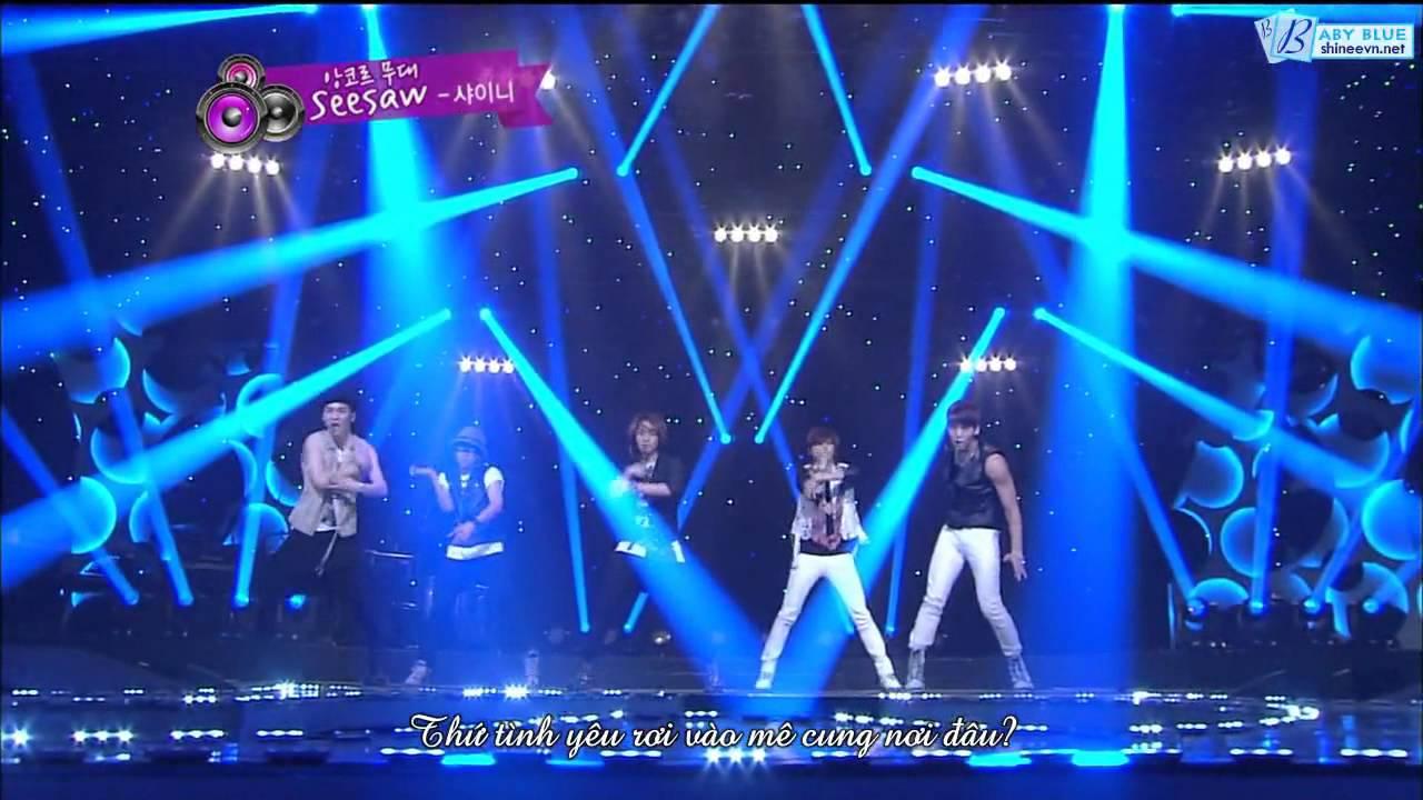 Download [Vietsub] 120819 SHINee - Seesaw (Korean ver)