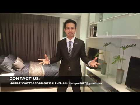 Makati Condo - The 100 west makati developed by Filinvest Land ACTUAL TOUR with M&B