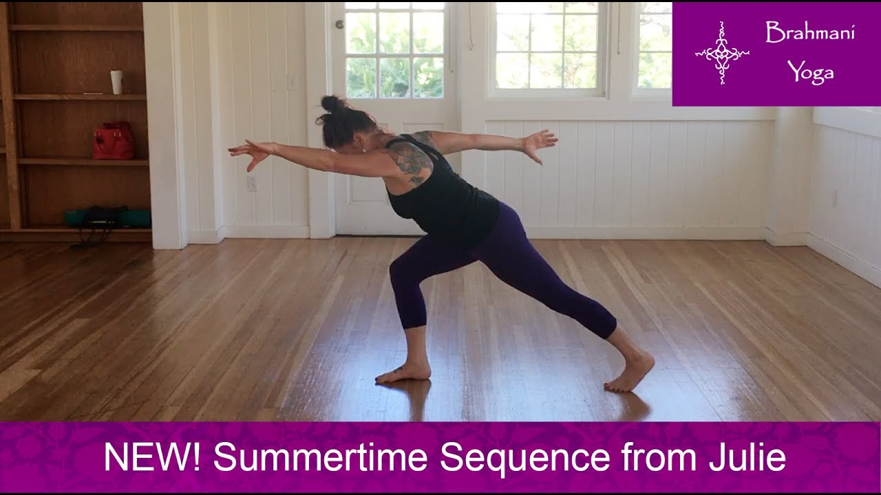 Read more We are happy to show you a new sequence that Julie is playing  with. She plans on bringing it with her to her European Yoga workshops this  summer. 46c4e28815ee8