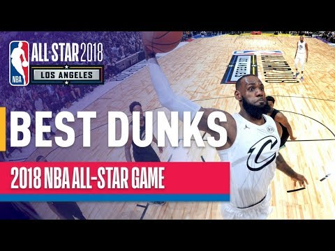 EVERY DUNK from the 2018 NBA All-Star Game
