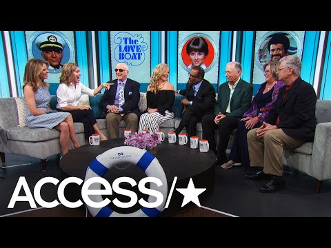 Come Aboard! The Original Cast Of 'The Love Boat' Makes Another Run On Live | Access