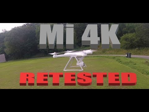 XIAOMI MI 4K DRONE FLIGHT TEST