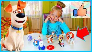 ВСЕ игрушки Тайная жизнь домашних животных 2 из МАКДОНАЛЬДС Хэппи Мил Обзор Вся коллекция