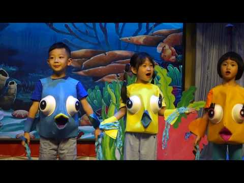 Rainbow Fish Play. ESL-kindergarten-China