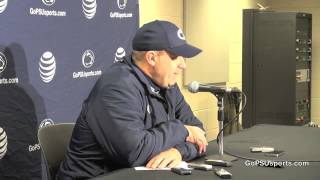 Penn State Football - Bill O'Brien Postgame Press Conference at Wisconsin
