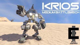 'Krios' Medium Battlemech - Space Engineers