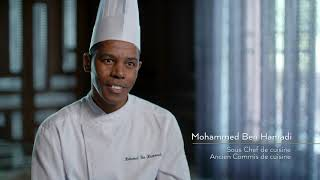 Formation Commis de cuisine l L'Académie du Royal Mansour