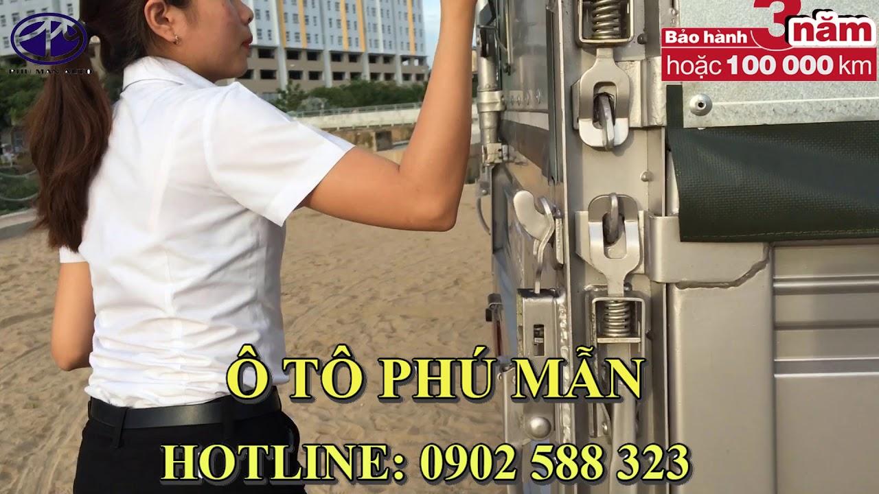 xe tải Trường Giang T3 cabin kép 5 chổ ngồi mới nhất 2018. - YouTube