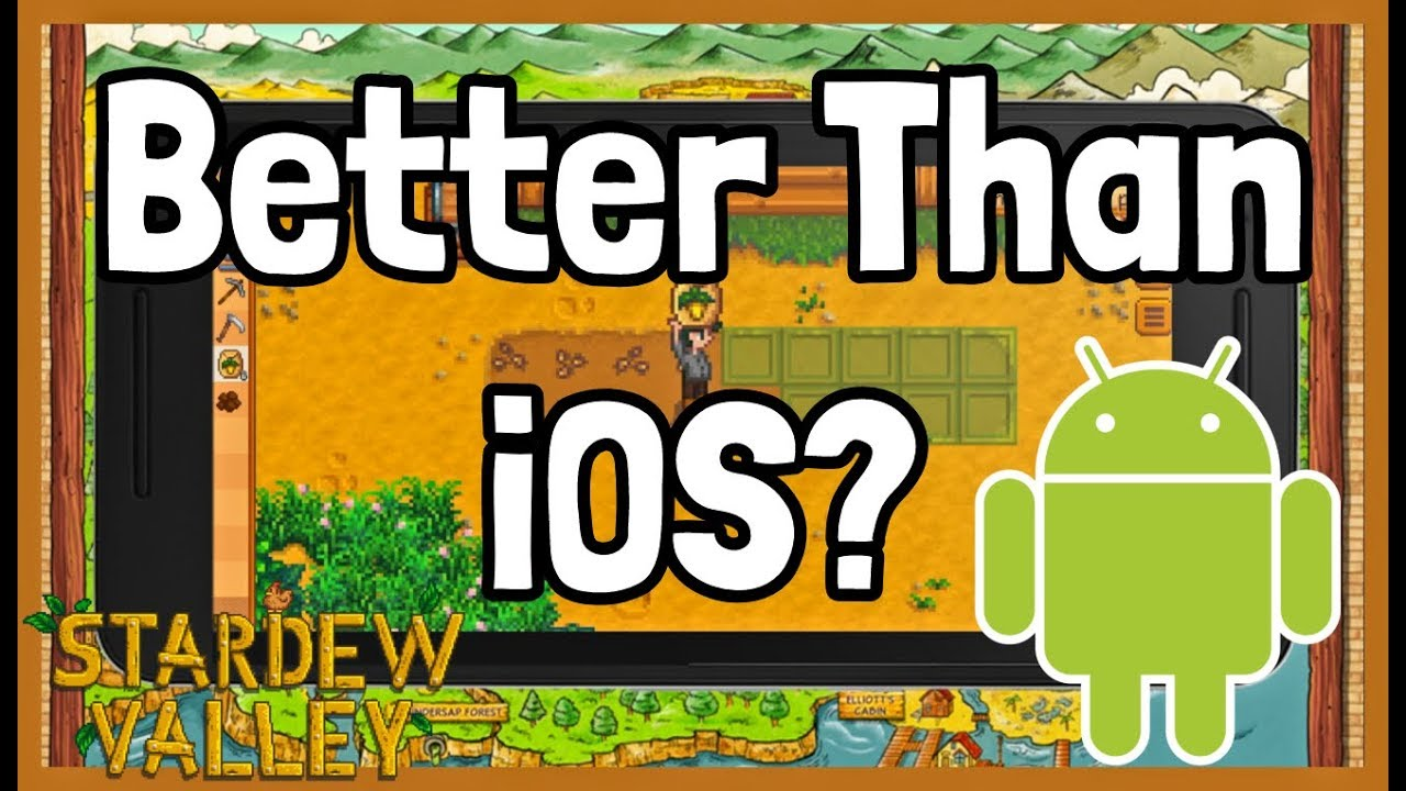 Playing Stardew Valley on the ANDROID Release! - First Look Gameplay