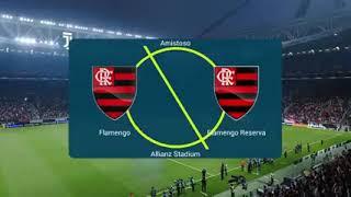 Flamengo Titular X Flamengo Reserva ps4