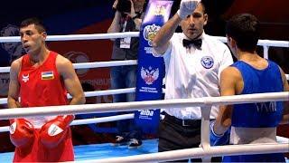 Preliminaries (52kg) ZOIROV Shakhobidin (UZB) vs GYLYCHJANOV YHLAS (TKM) /AIBA World 2019