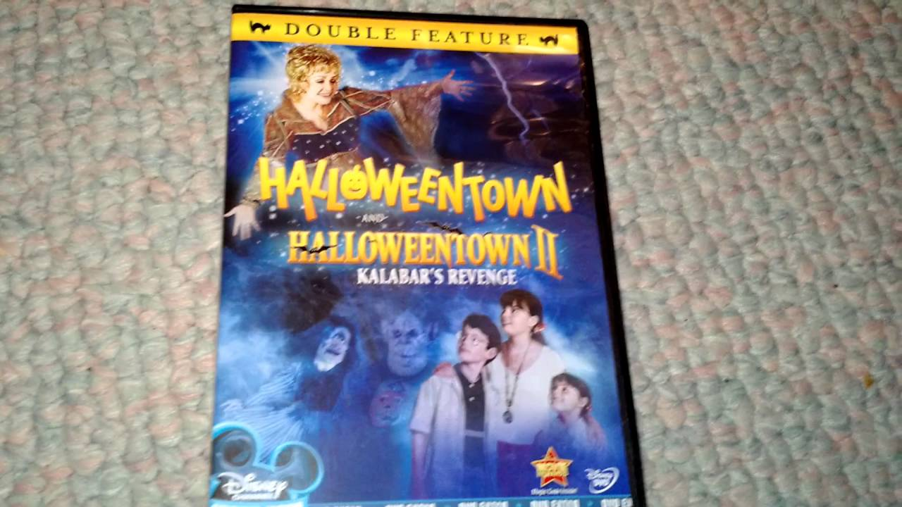 halloweentown halloweentown 2 kalabars revenge dvd combo pack unboxing