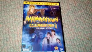 HalloweenTown & HalloweenTown 2: Kalabar's Revenge - DVD Combo Pack Unboxing!