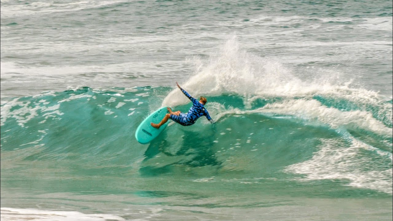 SURFING FUN WAVES IN CALIFORNIA WITH - BLAIR CONKLIN