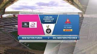 Currie Cup Premier Division   New Nation Pumas v DHL Western Province    Highlights