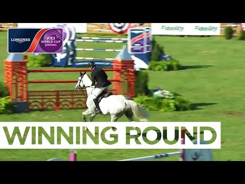 Devin Ryan wins in North Salem |Longines FEI World Cup™ Jumping NAL