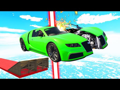 DODGE The LASER Or GET SPLIT! (GTA 5 Funny Moments) thumbnail
