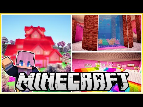 Building @LDShadowLady's Dream House in Minecraft!