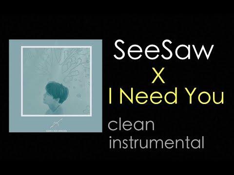 [Clean Instrumental] BTS (방탄소년단)  - Seesaw X I Need U REMIX (Pro.SUGA)