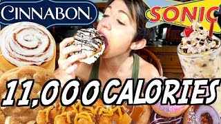 CRAVINGS CRUSHER CHEAT DAY | 11,000 + CALORIES