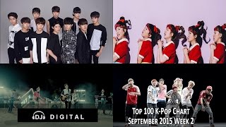 Top 100 K-Pop Songs Chart - September 2015 Week 2