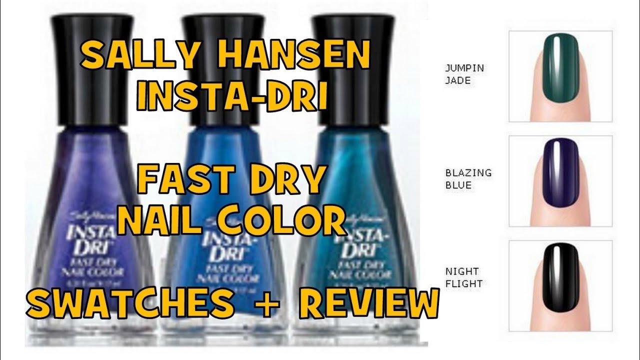 SALLY HANSEN Insta-Dri Nail Polishes \
