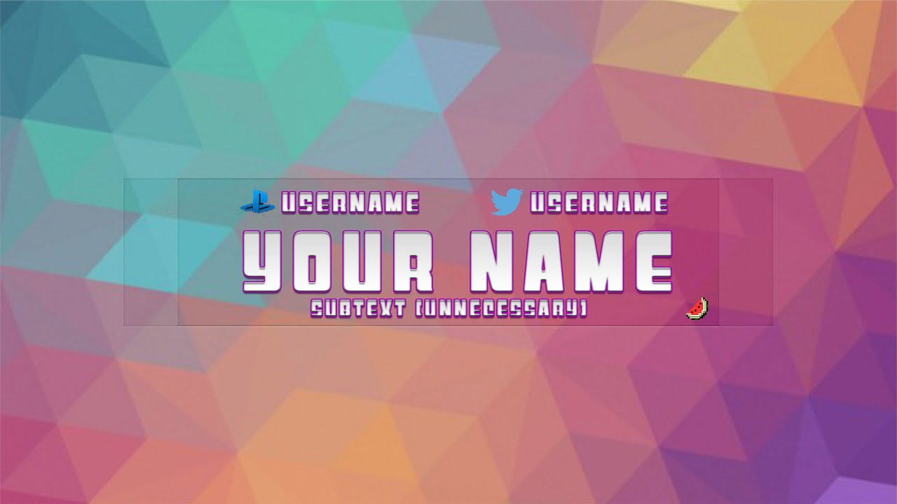 Youtube channel art template for photoshop pretty customizable youtube channel art template for photoshop pretty customizable youtube pronofoot35fo Images