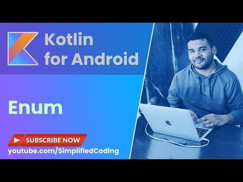 Kotlin Enum Tutorial with Example