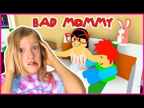 Baby Freddy Runs Away from Bad Mommy Karina!